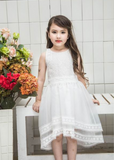 "The ""Ainsley"" Lace White Vintage Girl Inspired Lace Dress"