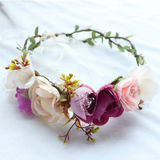 Shades of Spring - Whimsy Flower Crown