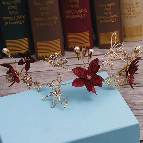 Dragonfly Beauty Headpiece