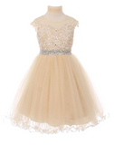 "The ""Adaline"" Rhinestone Lace Dress - That Girl Couture"