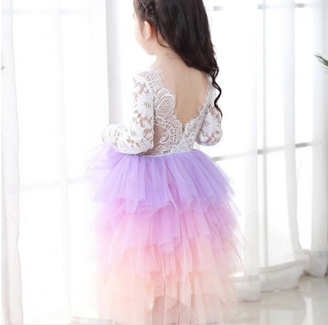 "The ""Rainbow Dream"" Ombre Tulle Dress"