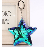 Star Sequin Keychain