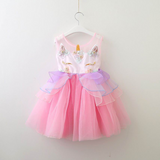 Unicorn Dreams Dress - Pink