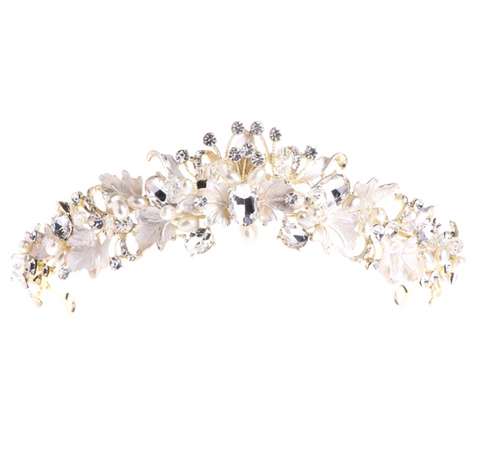 Forever Flowers Headpiece