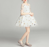 "The ""Arya"" Girls Star Sequin Dress"