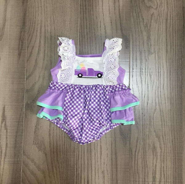 Easter Cheer Baby Romper