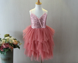 A Pinch of Glam Sequin Tutu Dress