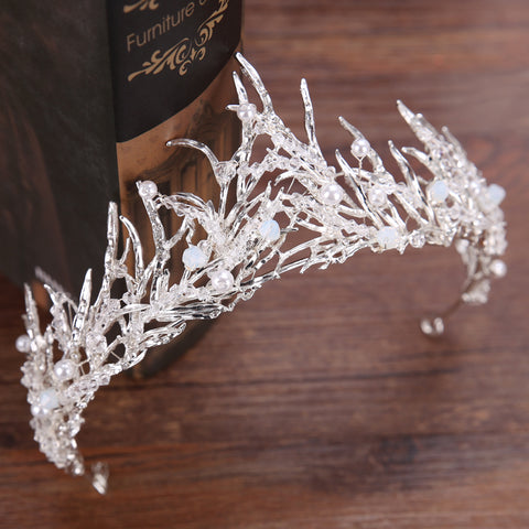 Icicle Crown Snow Queen Headpiece