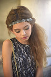 Boho City Glam Black Headband - Angora Boutique - 3