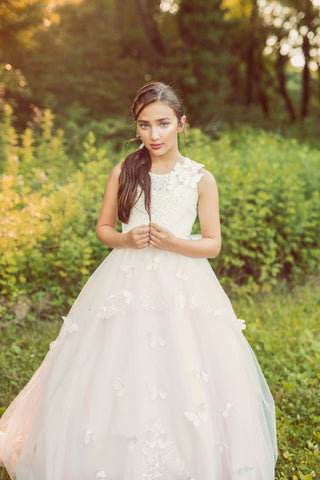"The ""Butterfly Dreams"" Lace Gown Custom - That Girl Couture"