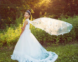 "The ""Enchanted Butterfly"" Lace Gown Custom - That Girl Couture"