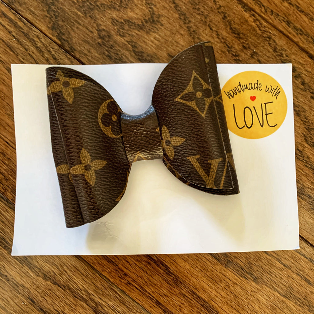 Fashionista Luxe Bow Hair Clip
