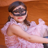 Lace Masquerade Mask Girls & Women Photography Props - Angora Boutique