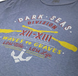 Playera Dark Seas Waves To Graves