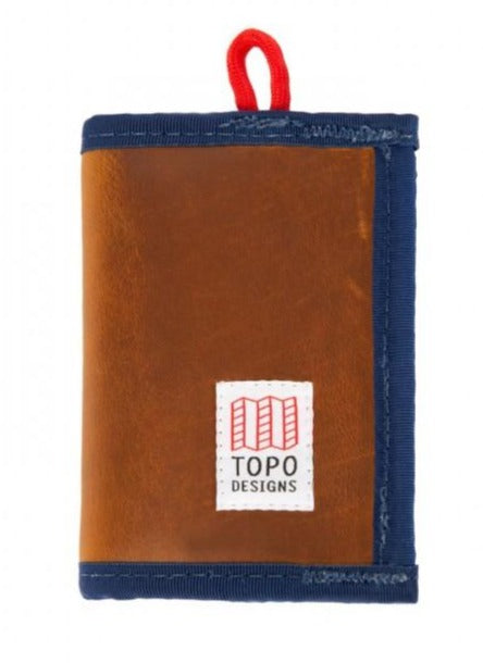 Topo leather Wallet brown