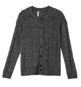 Suéter RVCA Woman Pavement Cardi