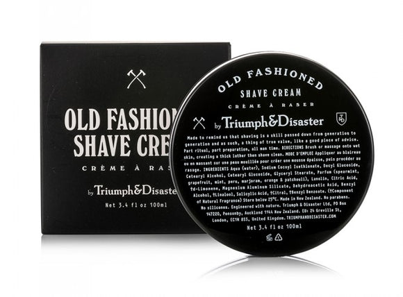 Crema Para Afeitar Triumph & Disaster Old Fashioned Shave Cream