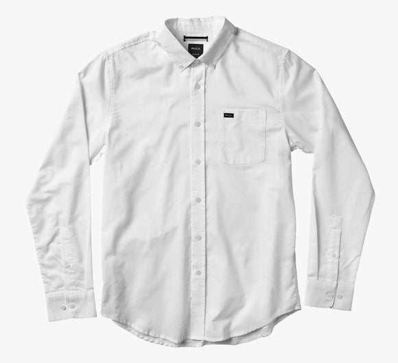 Camisa RVCA That'll Do Oxford LS