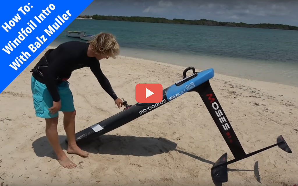 Free Windfoiling Lesson with Balz Muller!  (Video)