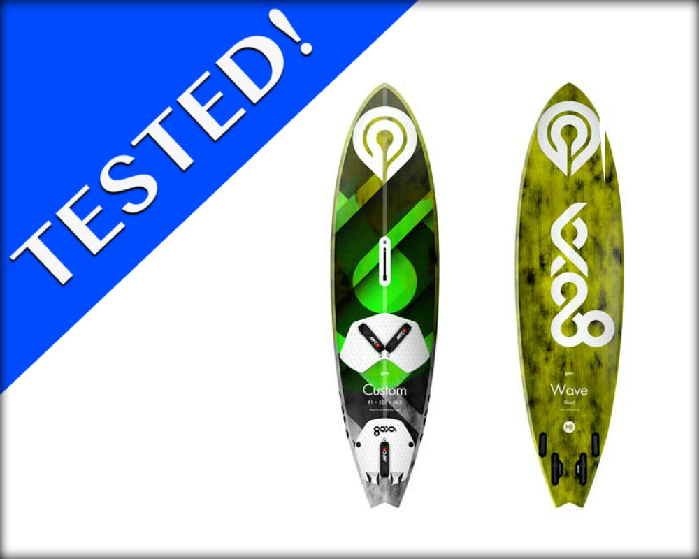 2018 Goya Custom Quad Windsurfing Board Review