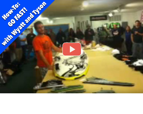 How to GO FAST on windsurfing gear! (Video)