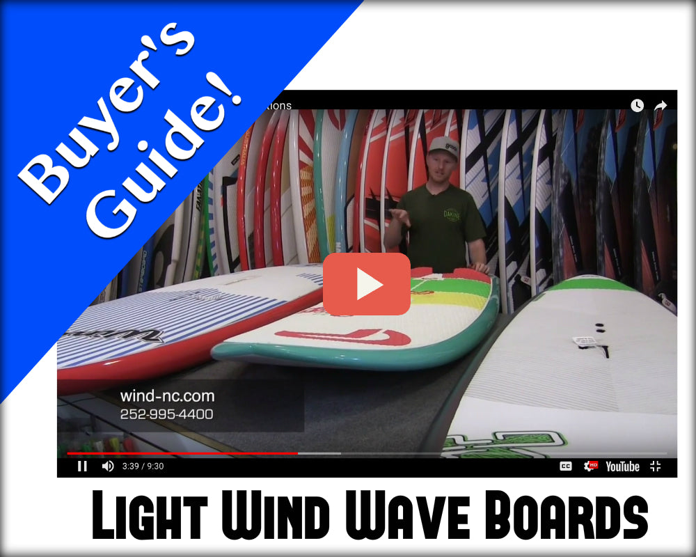 Light Wind Windsurfing: Board Options