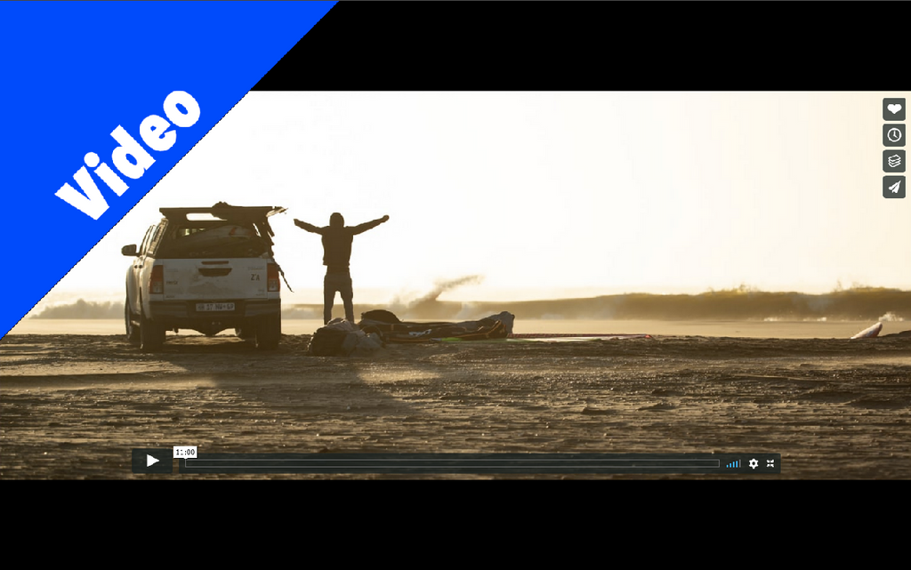 Video:  The Windsurf Project heads to Skeleton Bay, Namibia