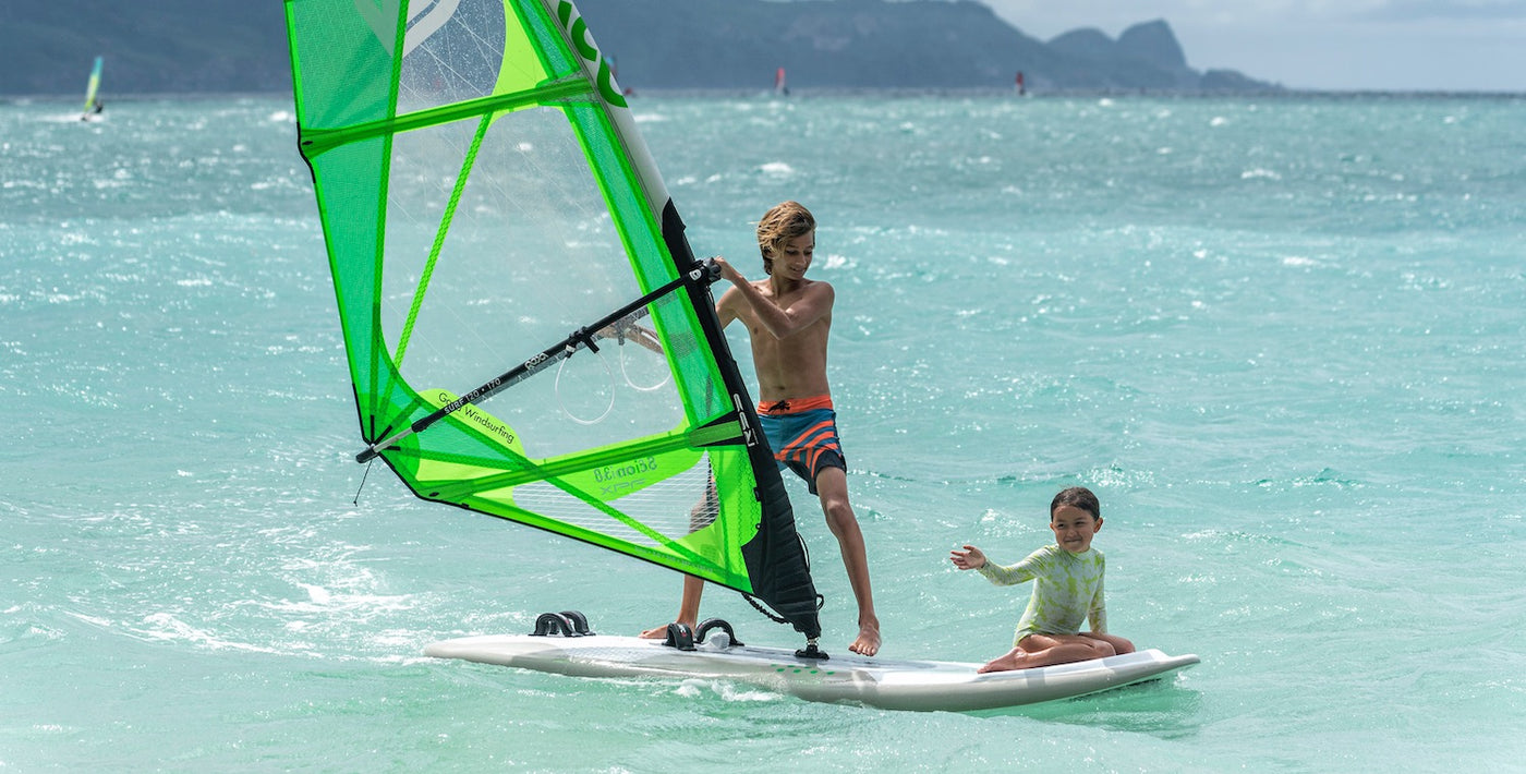 Beginner Windsurfing Equipment