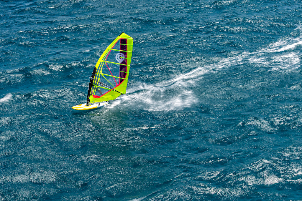 Blazingly Fast on the 2020 Goya Proton Windsurfing Board