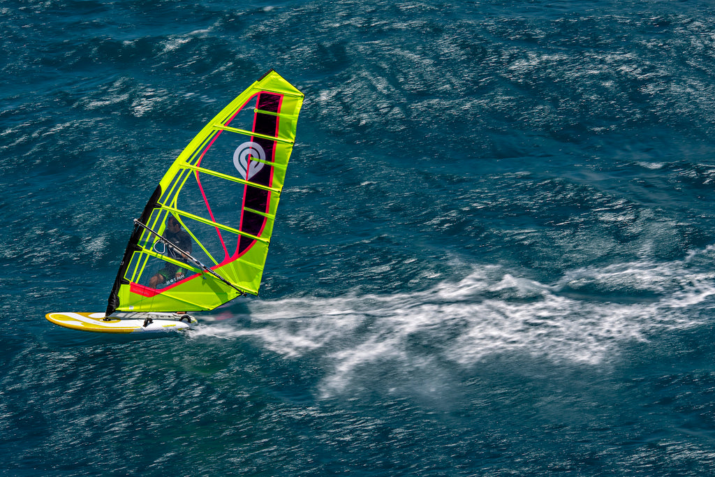 Full Speed Ahead on the 2020 Goya Proton Race Windsurfing Board