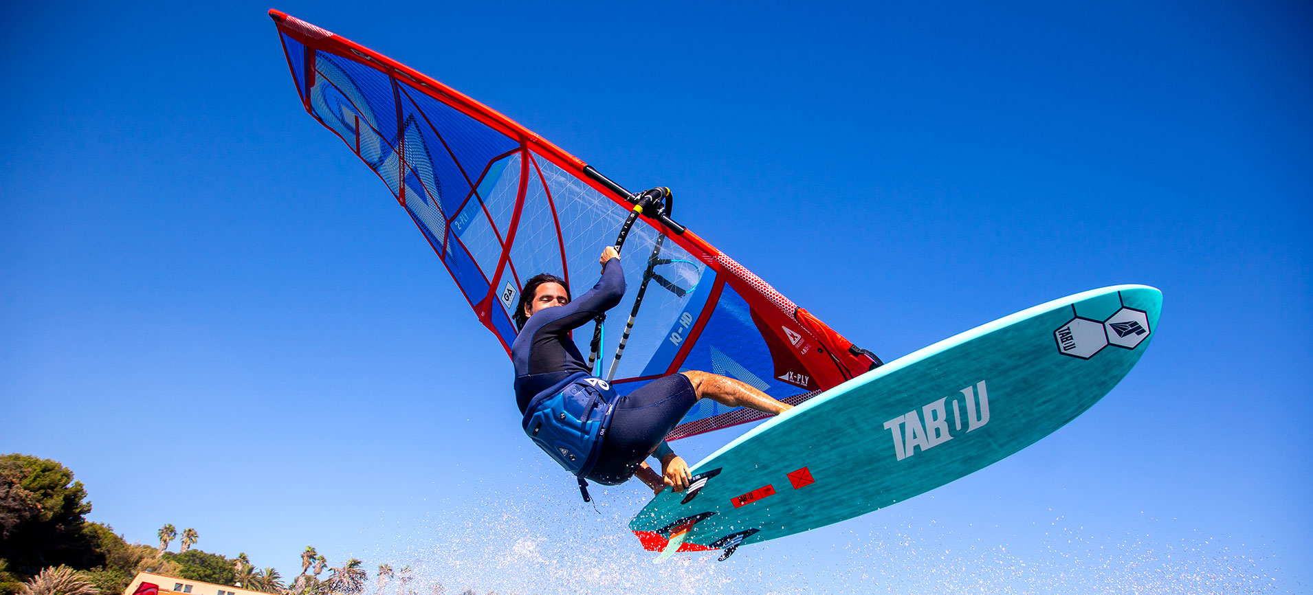 Tabou 3S Plus 2021 Windsurf Jump