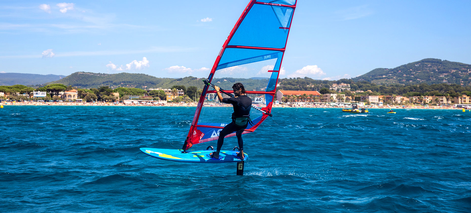 Tabou AirRide 2021 Foiling Windsurf Board Action