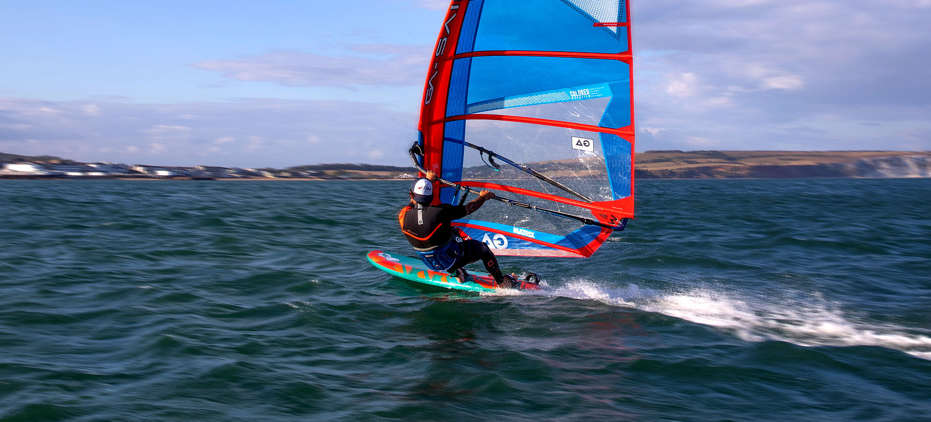 Tabou FIFTY Windsurf Action
