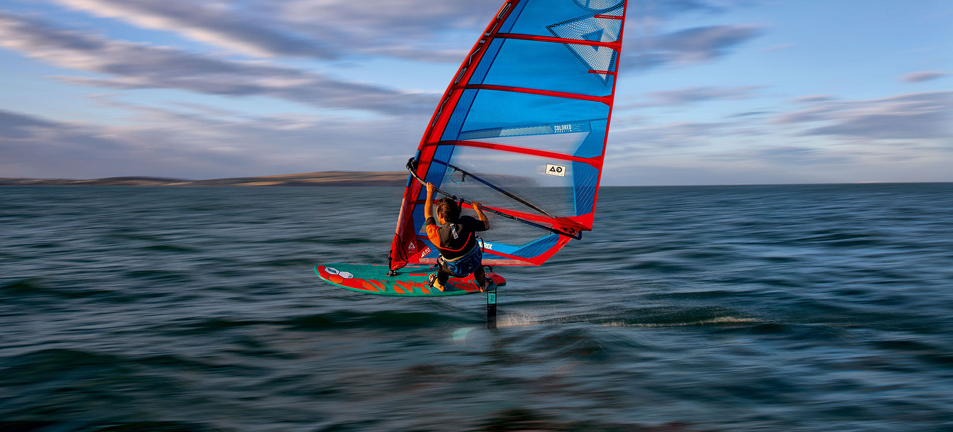 Tabou FIFTY Windsurf Foil Action