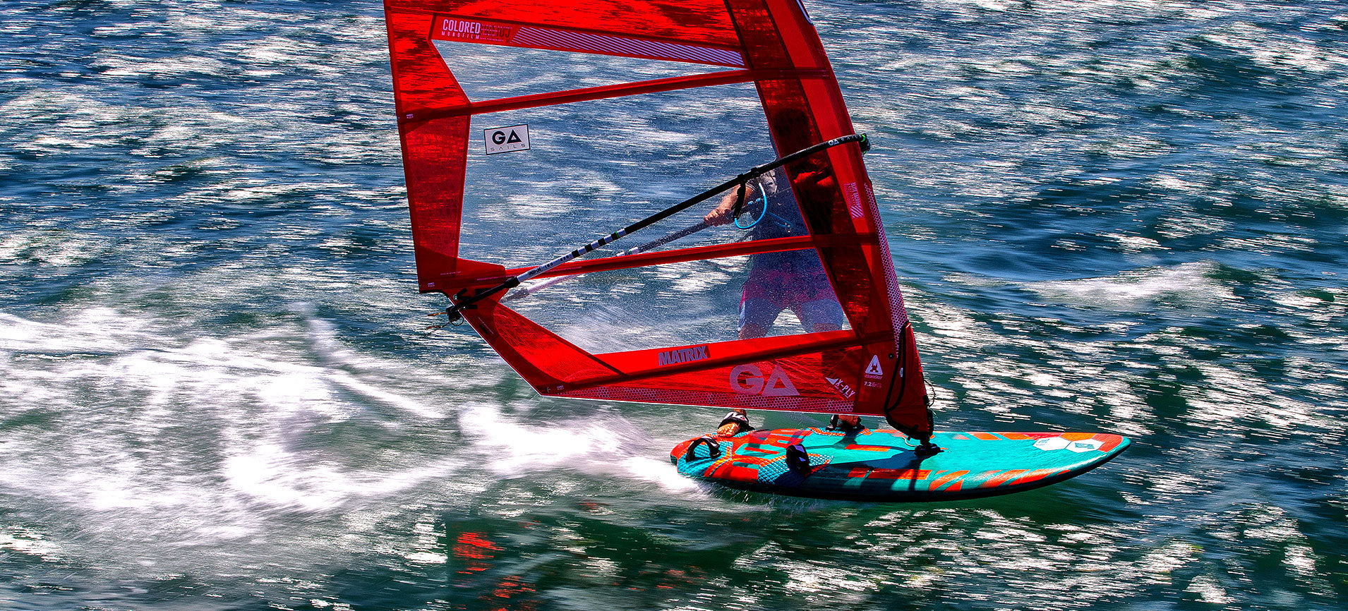 Tabou FIFTY Windsurfing Action