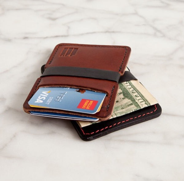 11 industries minimalist wallet with cash and cards