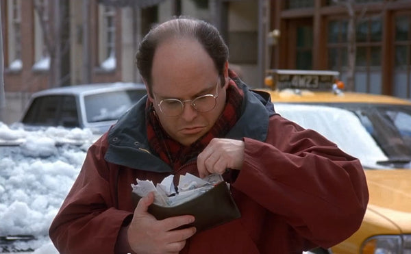 George Costanza Seinfeld Stuffed Wallet