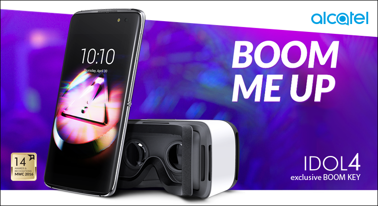 Alcatel IDOl 4 Readily Available at StarHub