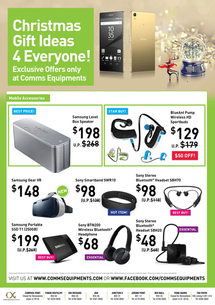 Christmas Offers Mobile Accessories singapore