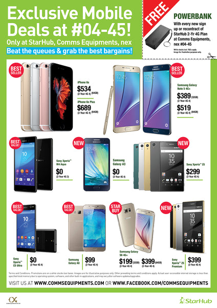 StarHub Exclusive Promotion - nex - 21 Nov