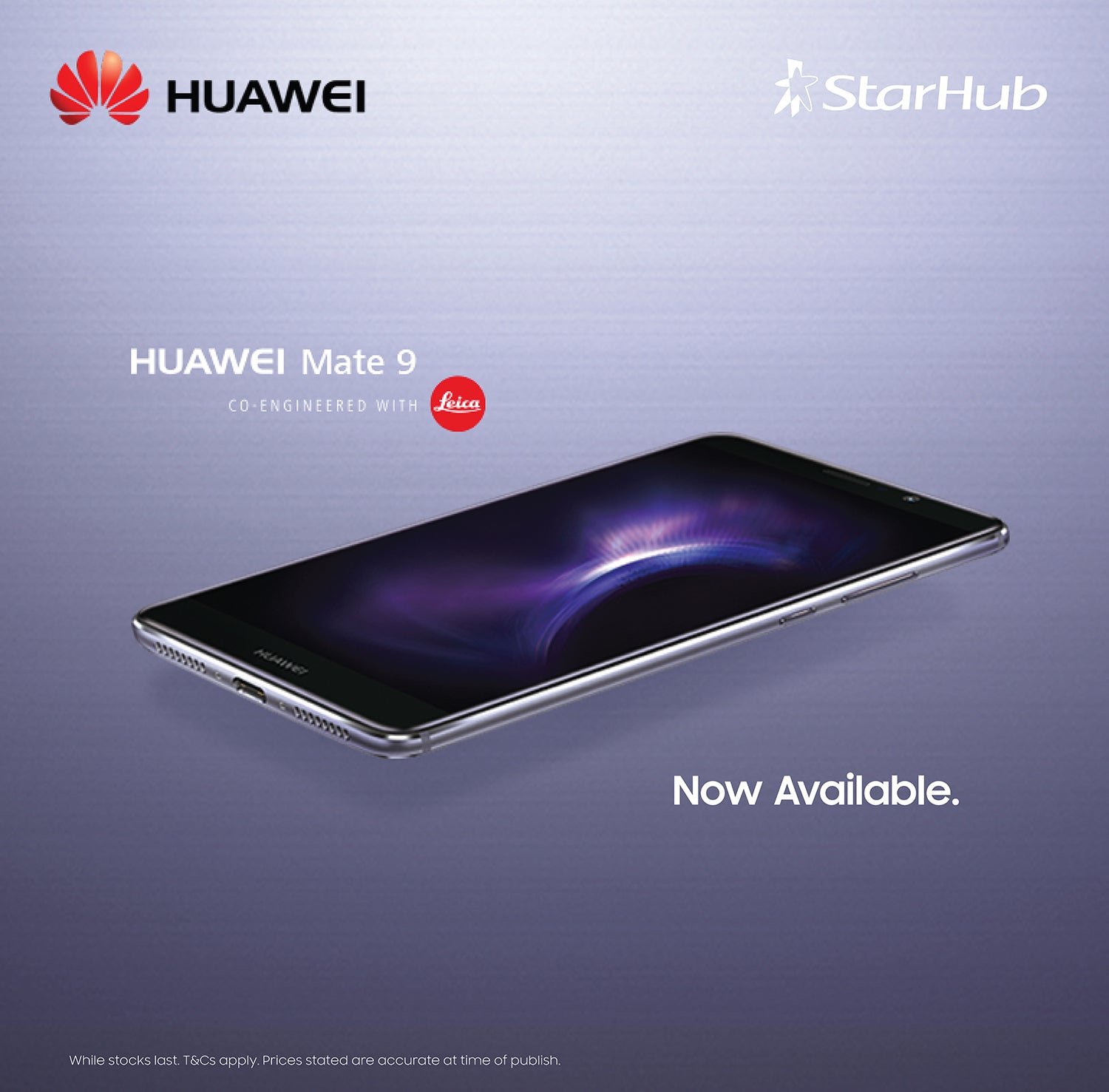 Huawei Singapore Mate 9 StarHub Sale