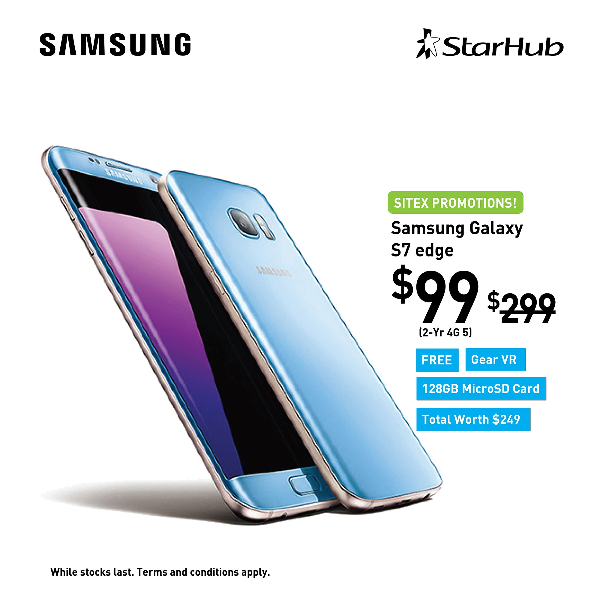 StarHub Sitex Offer Promotion S7 Samsung