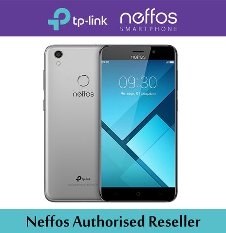 TP Link Neffos Y7 2GB/16GB GREY HANDSET / FREE FLIP COVER & BACK COVER. BRAND NEW SEALED SET WITH 2 YEAR LOCAL WARRANTY