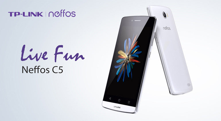 TP-Link Neffos C5 on sale now!