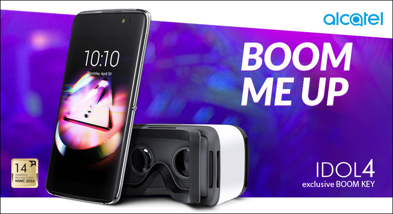 Alcatel IDOL 4 available only at Comms Equipments!