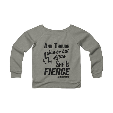 Don't Mess with my Omies Yoga Sponge Fleece Wide Neck Sweatshirt