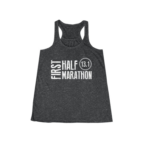 Will Run for Coffee Workout Flowy Racerback Tank