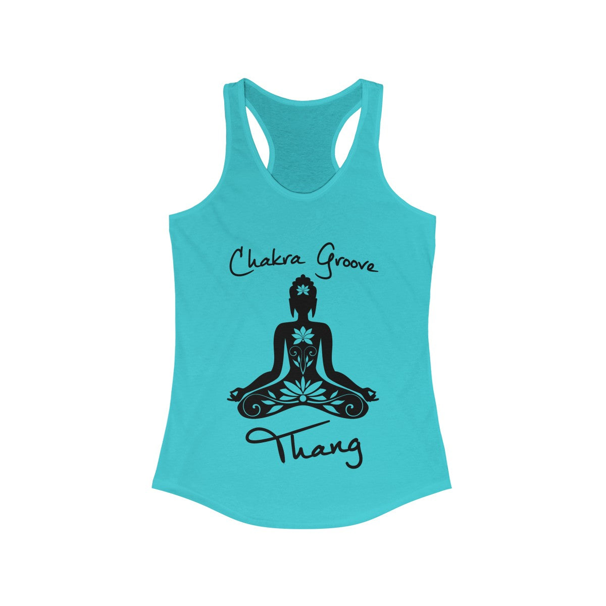 Chakra Groove Thang Women's Racerback Tank