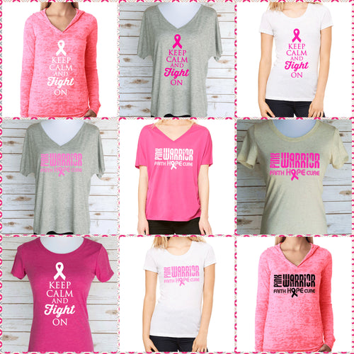 Breast Cancer Awareness T-Shirts & Hoodies