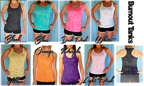 Custom Designed Women's Burnout Tank Top